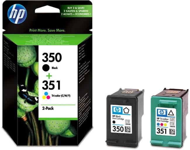 HP 350-351 Combo-pack Inkjet P
