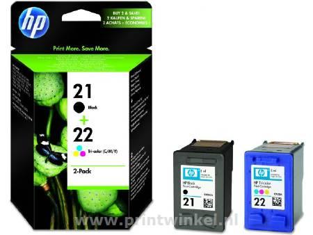 Inkcartridge HP SD367AE nr.21+22 duopack