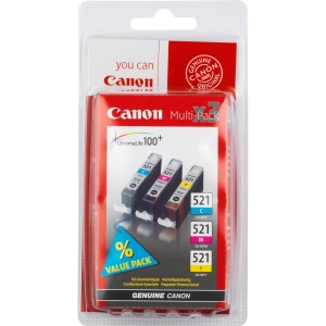 CLI-521 CMY inkt, 3 kleur