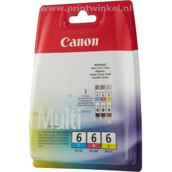 Inkcartridge Canon BCI-6 3 kleuren