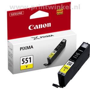 Inkcartridge Canon CLI-551Y geel