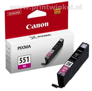 Inkcartridge Canon CLI-551M rood