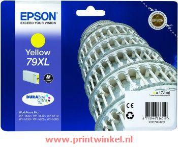 Inkcartridge Epson T790440 geel HC