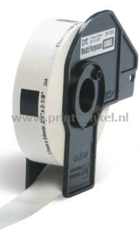 Brother DK-11204 compatible multifunctionele labels