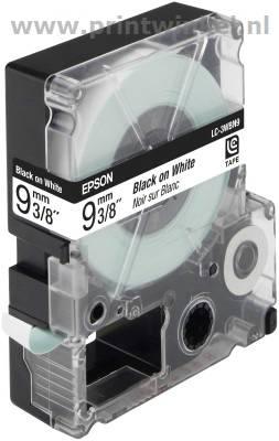 Epson standaardtape breedte 9 mm zwart-wit