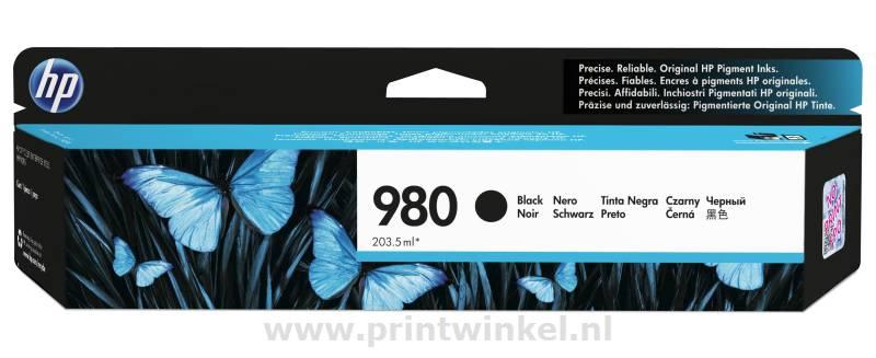 Inkcartridge HP D8J10A nr.980A zwart