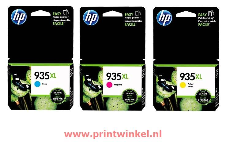 INKCARTRIDGE HP 935XL F6U78AE HC KLEUR