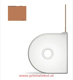 CubePro Cartridge PLA Brown