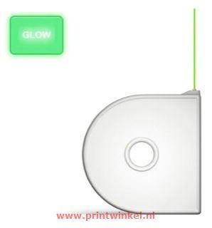 CubePro Cartridge PLA Glowing Green